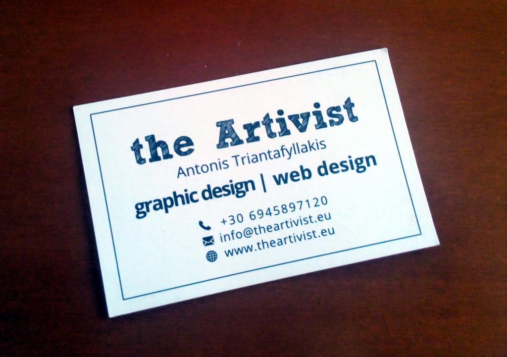 theArtivistCard