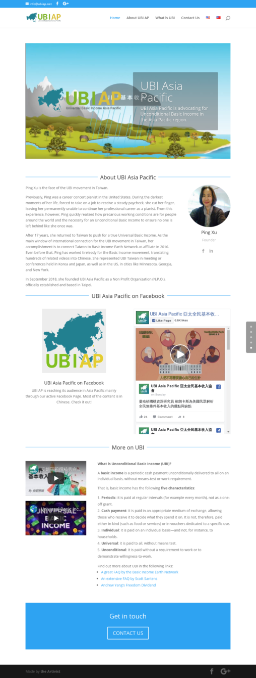 UBI Asia Pacific